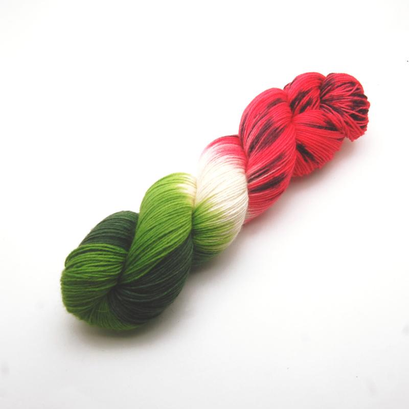 Handgefärbte Wolle - Farbularasa - Melone