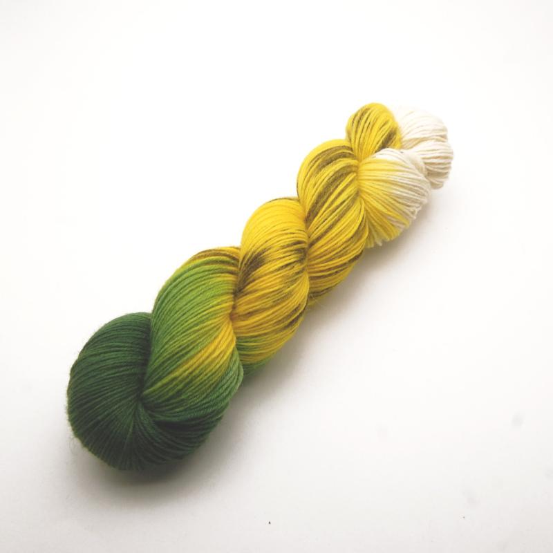 Handgefärbte Wolle - Farbularasa - Banane