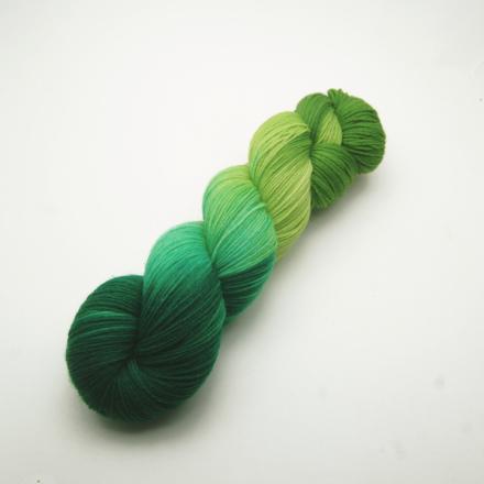 Handgefärbte Wolle - Farbularasa - grün