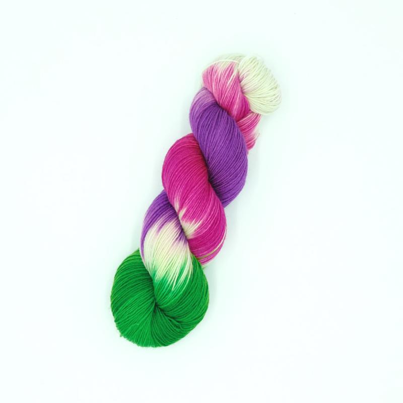 Frühling - Handgefärbte Wolle - Farbularasa - Monatsfärbung